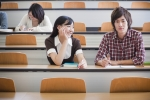 Image of students sitting in a lecture theatre