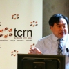 Prof Jack Li speaking at TCRN