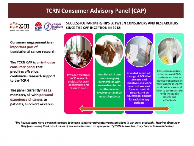General Overview of the TCRN CAP